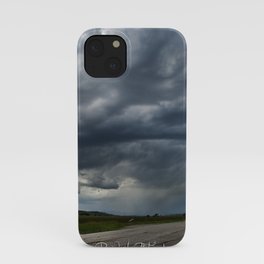 Storm Cell in Montana iPhone Case