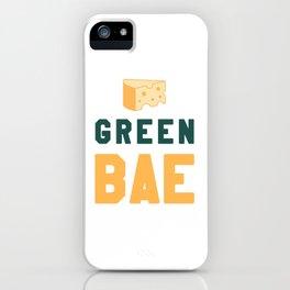 Green Bae   GB Packers iPhone Case