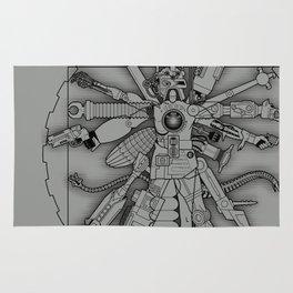 The Vitruvian Machine Rug