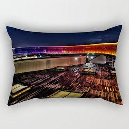 Aros Aarhus, Denmark, Your rainbow panorama Rectangular Pillow