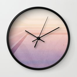 Horizontal flight Wall Clock