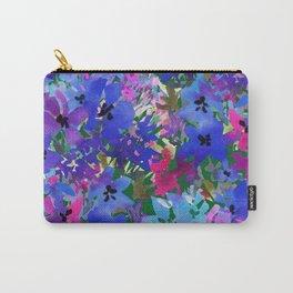 Cool Blue Summer Garden Carry-All Pouch