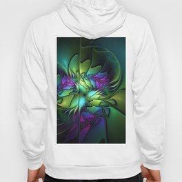Colorful And Abstract Fractal Fantasy Hoody