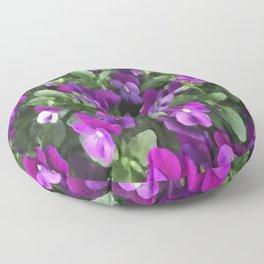 Botanical Florals Zencolor2 Floor Pillow