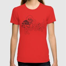 Red Rover Red X-LARGE Womens Fitted Tee