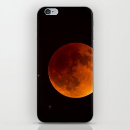 Blood Moon Lunar Eclipse 2015 iPhone Skin