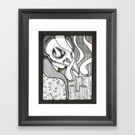 Sorceress Framed Art Print