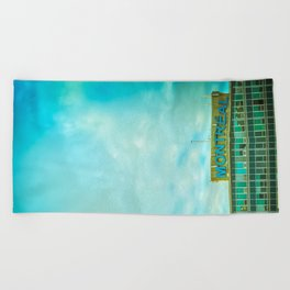 YUL Beach Towel