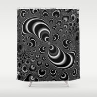 infinity Shower Curtains featuring Infinity by Christy Leigh