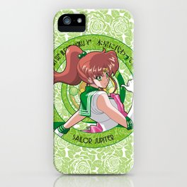 Sailor Jupiter - Crystal Intro iPhone Case