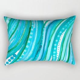 Lovely Waves Rectangular Pillow
