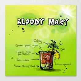 BloodyMary_002_by_JAMFoto Canvas Print