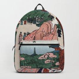 Oriental Chinese ladies art Backpack