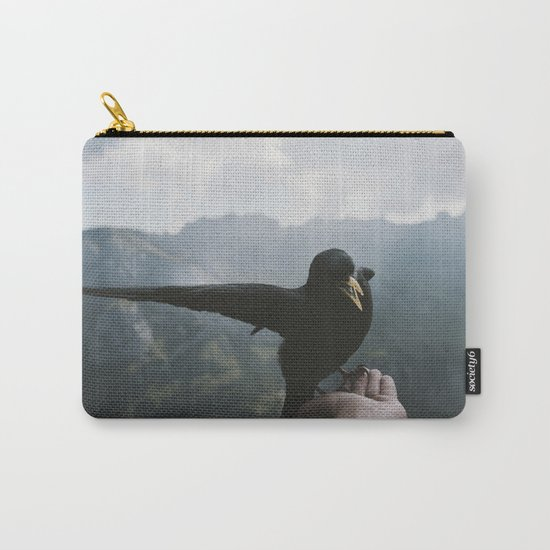 A wild Bird - landscape photography Carry-All Pouch