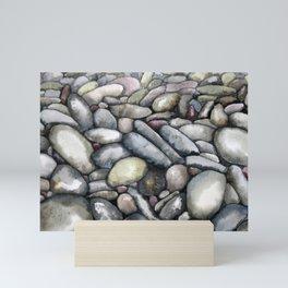 Pebble Beach Mini Art Print