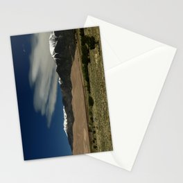 High Mountains and Sand Dunes Stationery Cards