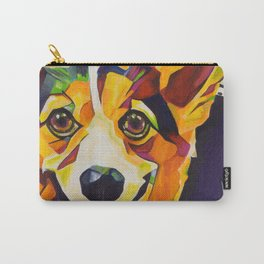 Pop Art Corgi Carry-All Pouch