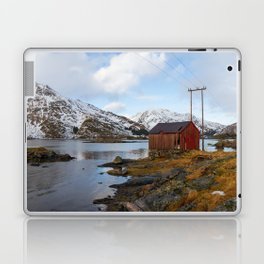 The Red Shed Panorama Laptop & iPad Skin
