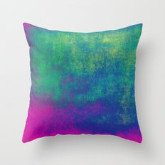 Simply Colorful Throw Pillow