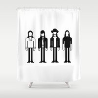 floyd Shower Curtains featuring Pink Floyd by Band Land