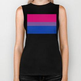 Bisexual Pride Flag Biker Tank