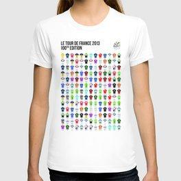 Edit Renew PromoteCopy Deactivate Delete Stats Le Tour de France 2013. The Finishers. T-shirt