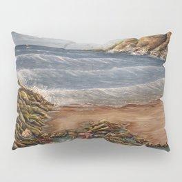 Rock Pools at Ogmore Pillow Sham