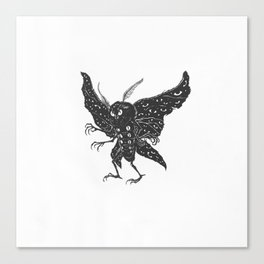 Mothman Canvas Print