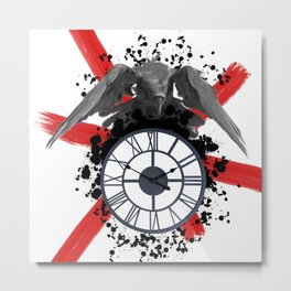 Ticking Away Metal Print