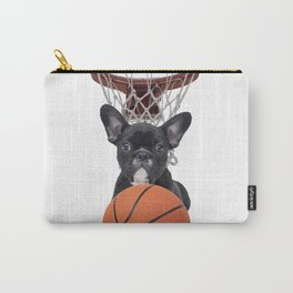 Sports Basket Ball - French Bulldog Carry-All Pouch