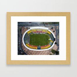 Estadio El Campin Framed Art Print