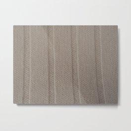 warm Metal Print
