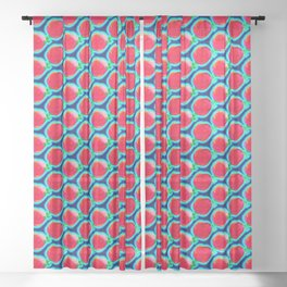Pattern for mother's day -2- ... Sheer Curtain