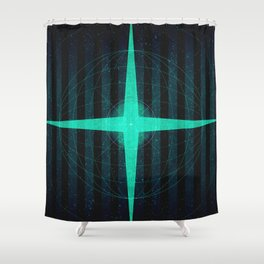 Sol System - Oort Cloud  Shower Curtain