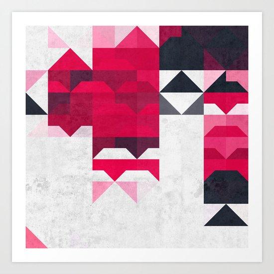 ryspbyrry xhyrrd Art Print