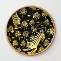 Tiger jungle animal pattern by zsofi