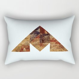 COAL MOUNTAIN Rectangular Pillow