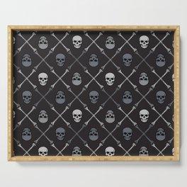 Skull n Bones Serving Tray