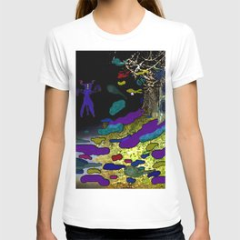 Night on the Path T-shirt