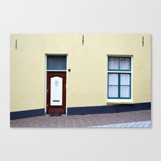 Dutch door and window Canvas Print