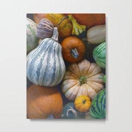 California Vegetables Metal Print