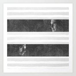 Steve & Bucky Art Print