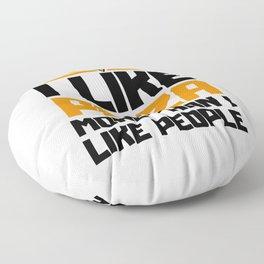 I like pizza Floor Pillow