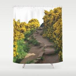 Path at Arthur's Seat Shower Curtain