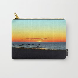 Traditional Seaside Sunset Carry-All Pouch