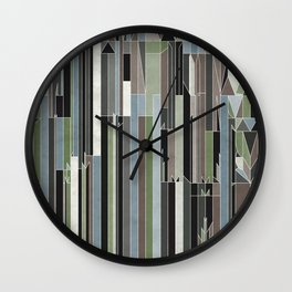 Penthouses and Parks (3) Wall Clock