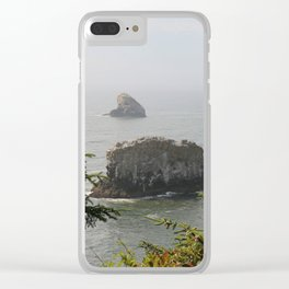 Beautiful View Over The Sea Clear iPhone Case
