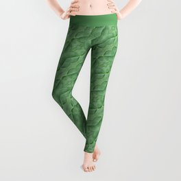 60s Decor Inspired Baby Spinach Leggings