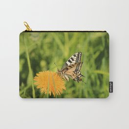 The Old World swallowtail (Papilio machaon) Carry-All Pouch
