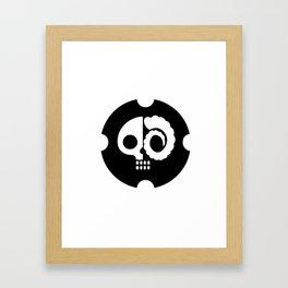 Drunkskull Framed Art Print